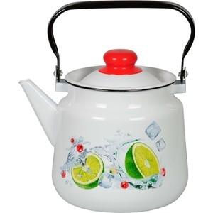 Чайник эмалированный 3.5 л СтальЭмаль Мохито (1с26с)