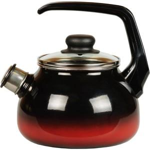 Чайник эмалированный со свистком 2.0 л СтальЭмаль Кармен (4с210я)