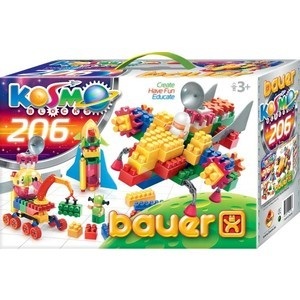 Конструктор Bauer серия Космос 206 эл 16/16, м5/5 (269)