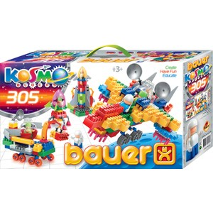 Конструктор Bauer серия Космос 305 эл 12/12 (270)