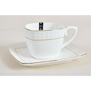 Кофейный набор 12 предметов на 6 персон Коралл Снежная королева (CS507006-A)