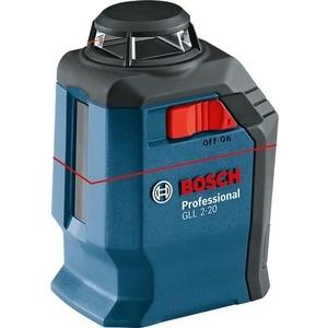 Построитель плоскостей Bosch GLL 2-20 + BM3 кейс