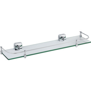 Полка стеклянная Fixsen Kvadro 60 см (FX-61303B) напольная полка fixsen fx 85 антик