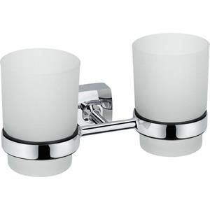 Стакан для ванны Fixsen Kvadro двойной (FX-61307) fixsen kvadro fx 61319b
