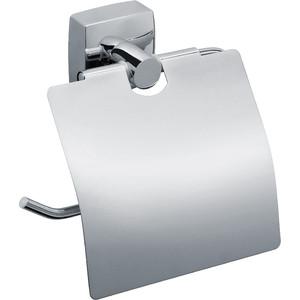 Держатель туалетной бумаги Fixsen Kvadro с крышкой (FX-61310) fixsen kvadro fx 61308a