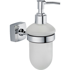 Дозатор для жидкого мыла Fixsen Kvadro (FX-61312) fixsen kvadro fx 61310a