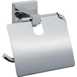 Держатель туалетной бумаги Fixsen Metra с крышкой (FX-11110)