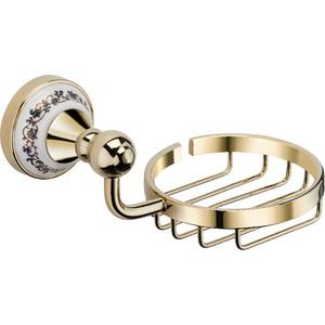 Мыльница-решетка Fixsen Bogema Gold (FX-78509G) цены