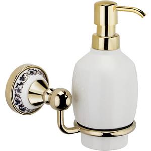 Дозатор для жидкого мыла Fixsen Bogema Gold (FX-78512G) стакан для зубных щеток fixsen bogema gold fx 78506g золото белый