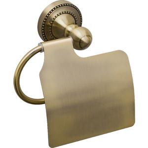 Держатель туалетной бумаги Fixsen Antik с крышкой (FX-61110)