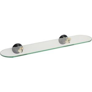 Полка стеклянная Fixsen Luksor 52 см (FX-71603B)