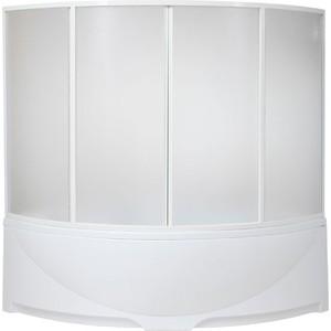 Шторка на ванну BAS Дрова 160 пластик Вотер (ШТ00027)