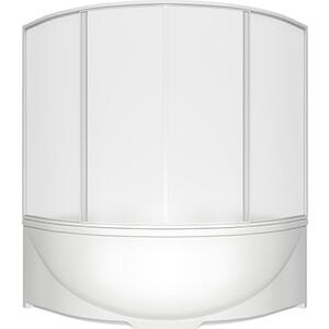 Шторка на ванну BAS Ирис, Империал 150 пластик Вотер (ШТ00028)