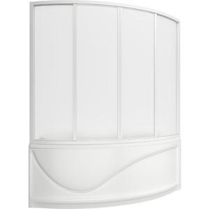 Шторка на ванну BAS Николь 170 пластик Вотер (ШТ00035) шторка на ванну bas хатива 143 пластик вотер шт00046