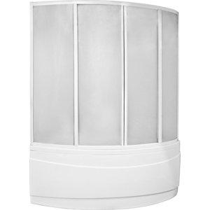 Шторка на ванну BAS Вектра 150 пластик Вотер (ШТ00026)