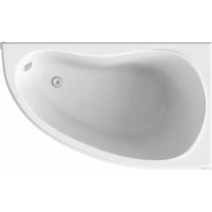Акриловая ванна BAS Алегра правая 150x90 с каркасом, без гидромассажа (В 00002)