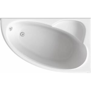 Ванна BAS Сагра правая 160х100 с каркасом, без гидромассажа (В 00032) акриловая ванна bas хатива 143х143 с каркасом без гидромассажа в 00042