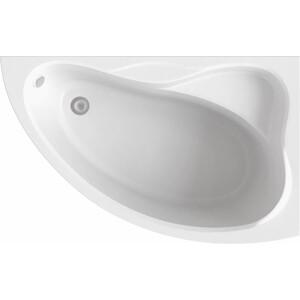 Акриловая ванна BAS Вектра правая 150х90 с каркасом, без гидромассажа (В 00008)