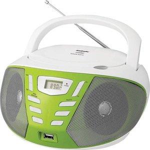 Магнитола BBK BX193U white/green