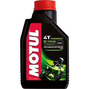 Моторное масло MOTUL 5100 4T 10W-40 1 л моторное масло motul atv utv expert 4t 10w 40 1 л