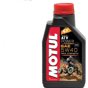 Моторное масло MOTUL ATV Power 4T 5W-40 1 л моторное масло motul 5100 4t 10w 50 1 л