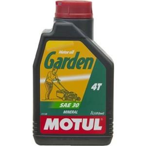 Моторное масло MOTUL Garden 4T SAE 30 1 л все цены