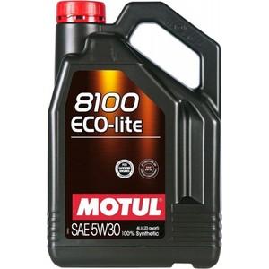цена на Моторное масло MOTUL 8100 Eco-lite 5W-30 4 л