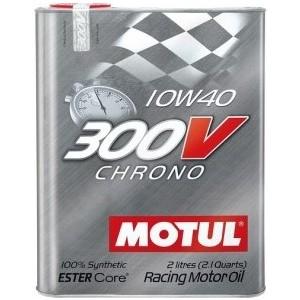 Моторное масло MOTUL 300V Chrono 10W-40 2 л motul 300v power 5w40