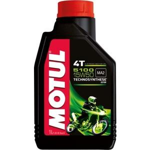 Моторное масло MOTUL 5100 4T 15W-50 1 л цена 2017