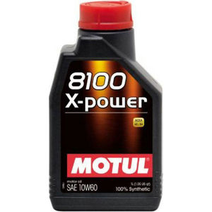 Моторное масло MOTUL 8100 X-Power 10W-60 1 л моторное масло motul 5100 4t 10w 40 1 л