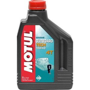 Моторное масло MOTUL Outboard Tech 4T 10W-40 2 л масло моторное motul outboard tech 2t technosynthese 5 л