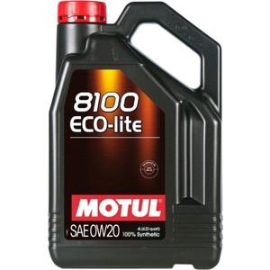 Моторное масло MOTUL 8100 Eco-lite 0W-20 4 л motul 8100 eco lite 5w30 1л