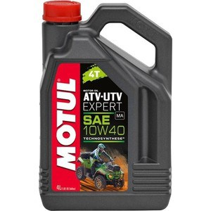 Моторное масло MOTUL ATV-UTV Expert 4T 10W-40 4 л