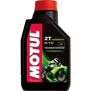 Моторное масло MOTUL 510 2T 1 л масло dde ss 2t