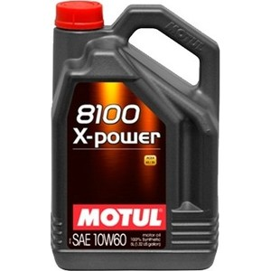 Моторное масло MOTUL 8100 X-Power 10W-60 5 л цена 2017