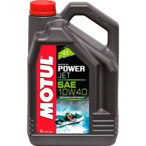 Моторное масло MOTUL PowerJet 4T 10W-40 4 л моторное масло motul atv utv expert 4t 10w 40 1 л