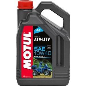 Моторное масло MOTUL ATV-UTV 4T 10W-40 4 л
