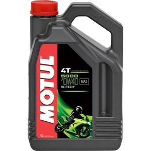 Моторное масло MOTUL 5000 4T 10W-40 4 л моторное масло motul 5100 4t 10w 40 4 л