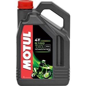 Моторное масло MOTUL 5100 4T 15W-50 4 л цена 2017