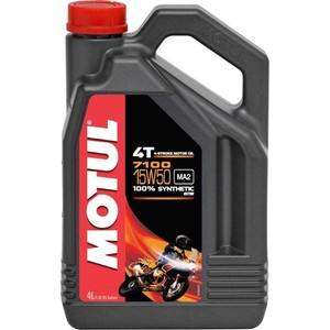 Моторное масло MOTUL 7100 4T 15W-50 4 л моторное масло motul 7100 4t 5w 40 4 л