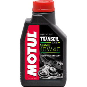 Трансмиссионное масло MOTUL Transoil Expert 10W-40 1 л motul 300v factory line road racing 5w 40 4 л