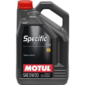 Моторное масло MOTUL Specific 0720 5W-30 5 л motul specific dexos2 5w 30 5 л
