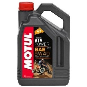 Моторное масло MOTUL ATV Power 4T 5W-40 4 л моторное масло motul 5100 4t 10w 50 1 л