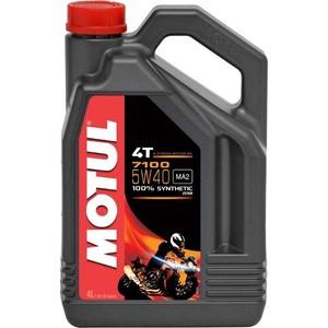 Моторное масло MOTUL 7100 4T 5W-40 4 л моторное масло motul 7100 4t 5w 40 4 л