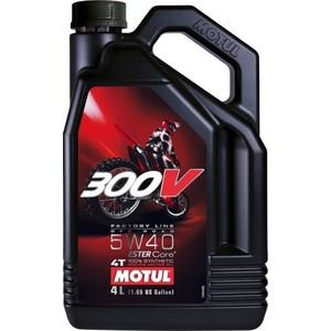 Моторное масло MOTUL 300V 4T Off Road 5W-40 4 л