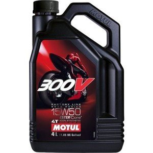 Моторное масло MOTUL 300V 4T FL Road Racing 15W-50 4 л