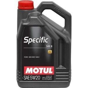 Моторное масло MOTUL Specific 948B 5W-20 5 л motul specific dexos2 5w 30 5 л