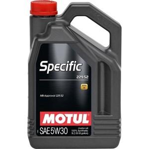 Моторное масло MOTUL Specific 229.52 5W-30 5 л motul specific dexos2 5w 30 5 л
