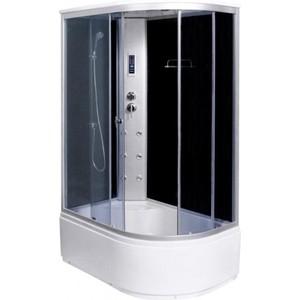Душевая кабина Aqualux MODO-120, матовое стекло /заднее тёмное (AQ-4072GFL-Bl)