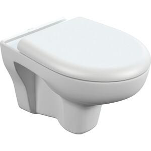 Унитаз подвесной Cersanit Nature Clean ON с сиденьем микролифт (S-MZ-NATURE-COn-DL-w) цена
